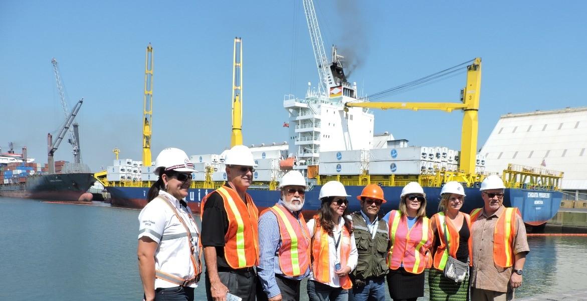 Puerto de Hueneme y Puerto Quetzal firman alianza estratégica