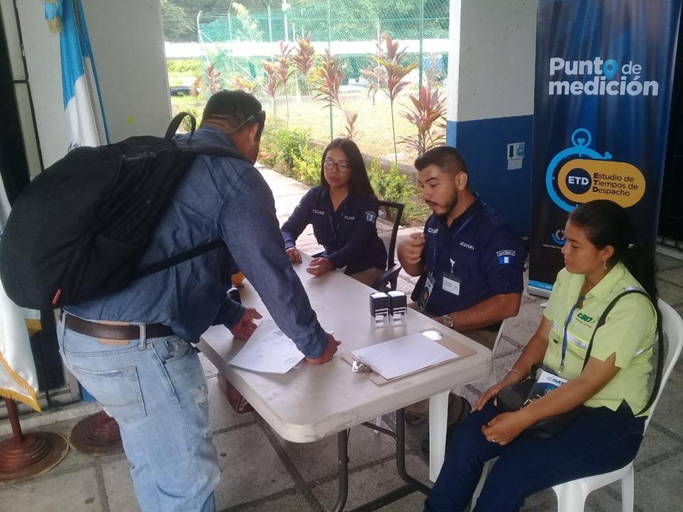 Miden tiempos de despacho en Aduana Puerto Quetzal