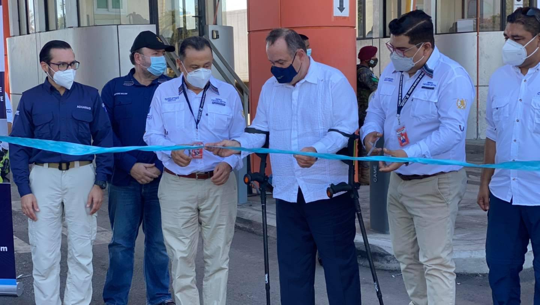 Empresa Portuaria Quetzal Inaugura Garitas De Acceso Y Sistema De Revisión No Intrusiva Mediante Equipo De Rayos X