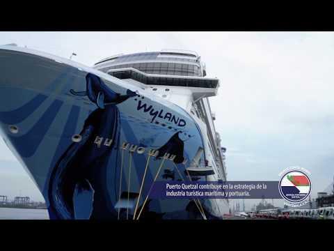 Empresa Portuaria Quetzal - Arribo crucero Norwegian Bliss