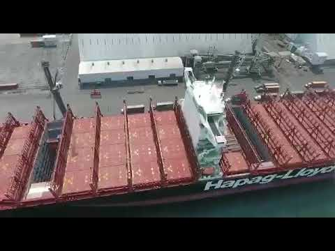 Puerto Quetzal mejora el servicio y atención en operaciones al buque y a la carga.